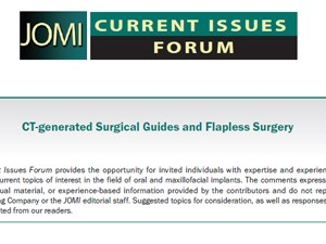 CT-generated Surgical Guides and Flapless Surgery